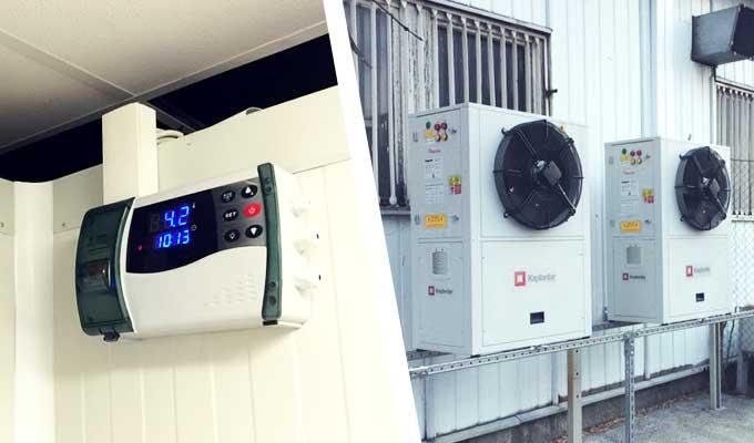Доставка и монтаж на <strong>специфична хладилна техника</strong> <br>за изграждане на <strong>търговски обекти, хладилни камери, водоохлаждащи агрегати</strong>