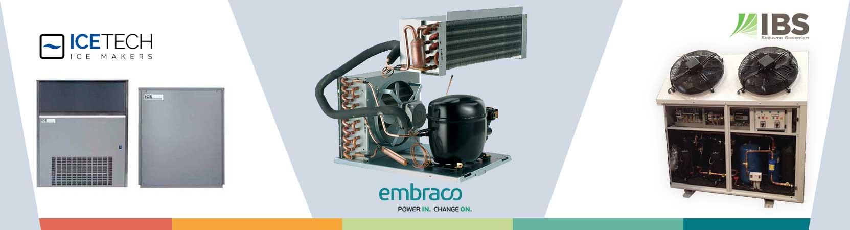 Пълен асортимент от <strong>резервни части, хладилни и климатични компресори, <br>медни тръби, инструменти и консумативи</strong>